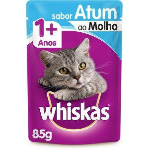 Whiskas Sachê Adulto Atum 85g