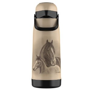 Termolar Garrafa Térmica Pressão Magic Pump 1.8L Cavalos