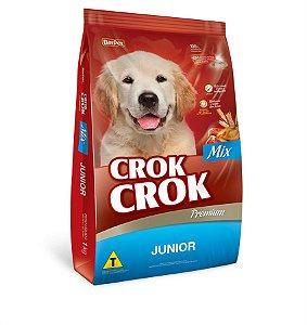 Dalpet Ração Crok Crok Cães Mix Junior 1KG