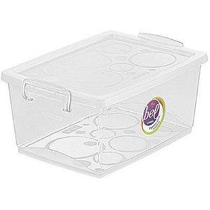 Ordene Organizador C/ Trava 7,5L Cristal