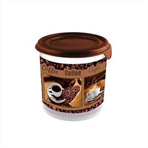 Plasvale Pote 1,4L Café Marrom