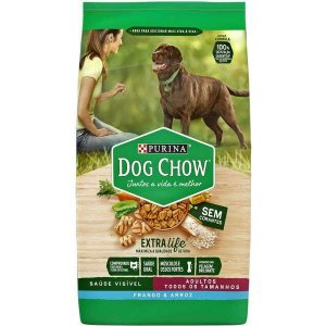 Purina Dog Chow Adulto Frango e Arroz 15KG