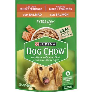 Purina Dog Chow Wet Adulto Salmão 100g