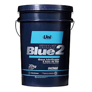 Ingrax Unilit Blue-2 Graxa P/ Rolamento 20KG