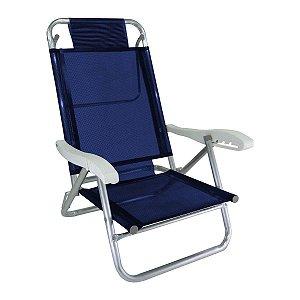 Zaka Cadeira Banho de Sol Azul Marinho