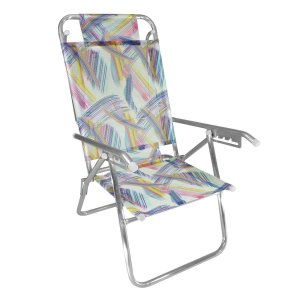 Zaka Cadeira de Praia Reclínável Up Aquarela