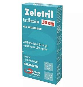 Agener União Zelotril 50mg 12 Comprimidos