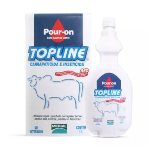 Merial Topline Pour On Red 1L