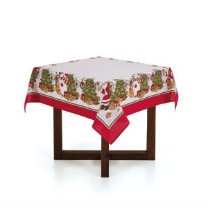 Karsten Toalha de mesa Quadrada 4 Lugares Vila de Natal