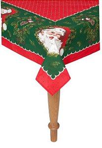 Karsten Toalha de Mesa Conto de Natal Vermelha/Verde