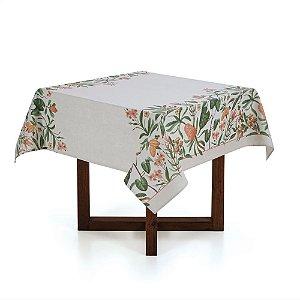 Karsten Toalha de mesa Quadrada 4 lugares Limpa Fácil Greta