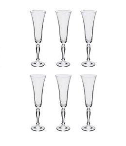 Full Fit Jogo de Taças Champagne Victoria 6 Unidades