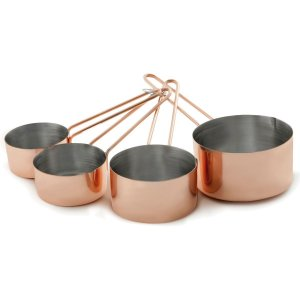 Mimo Style Kit 4 Xícaras Medidoras Bronze