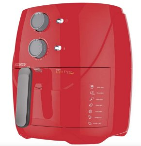 Cadence Fritadeira Sem Óleo 3,2L Super Light Fryer Colors Vermelha