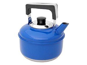 Ravinox Chaleira Inox 2 L Colors Azul Escuro