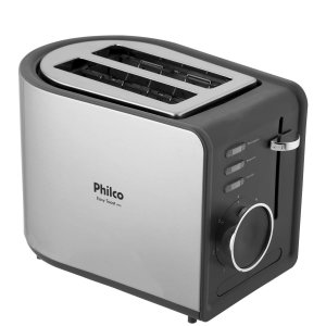 Philco Torradeira Easy Toast Preta R2 850W