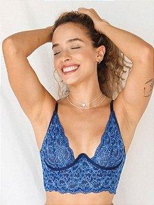 Cropped Laila Azul