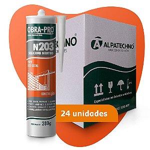 OBRA-PRO N203 Cinza (Cx 24 un)