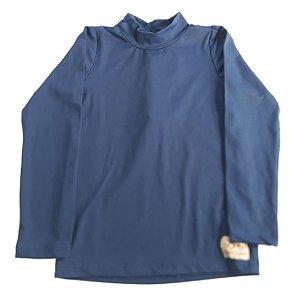 Camisa com proteção UV50+ marinho