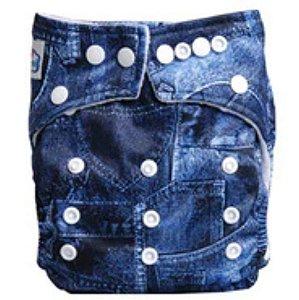Fralda ecológica Jeans
