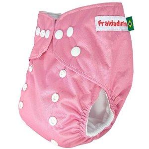 Fralda Rosa bebê