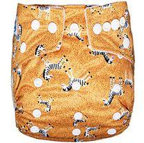 Fralda ecológica zebrinhas