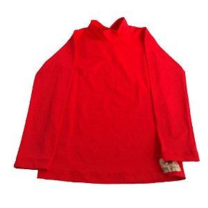 Camisa com proteção UV50+  Vermelha