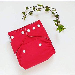 Fralda Vermelha com absorvente