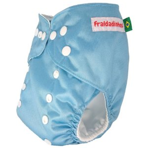 Fralda Azul Bebê