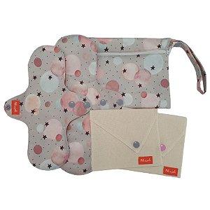 Kit Absorvente menstrual Círculos