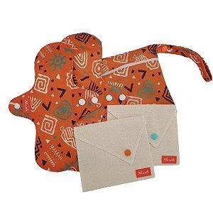 Kit Absorvente menstrual Africana