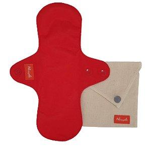 Absorvente menstrual M Vermelho