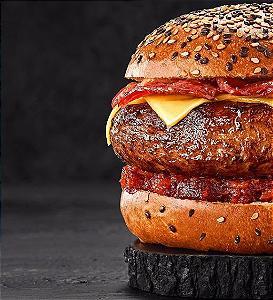 Hambúrguer de Costela- 2 unid de 200g / total 400g (Congelado)