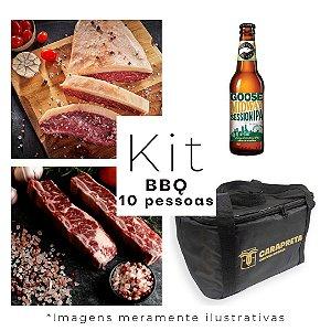 Kit Churrasco Variado - Carapreta 10 Pessoas (Ganhe Caixa Special Edition)