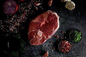 Pernil Steak de Cordeiro 255g (Congelado)