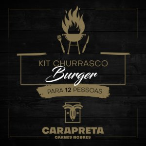 KIT CHURRASCO BURGER