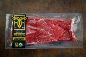 Steak de Paleta Angus Gourmet 380g (Congelado)
