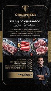 KIT DIA DO CHURRASCO - LEO PAIXÃO