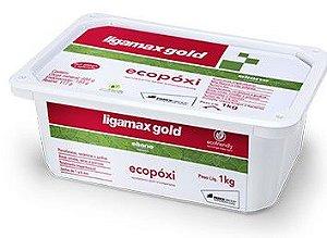 Rejunte Eliane Ligamax Ecopoxi Cx 1KG Ambar
