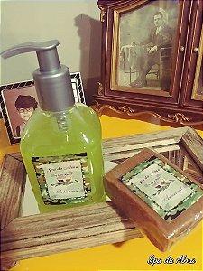 Sabonete líquido 240ml + 01 sabonete hidratante de barbear