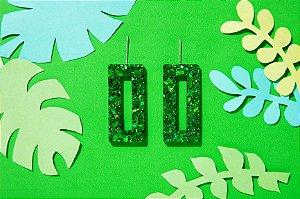 Brinco Rio - Emerald Green