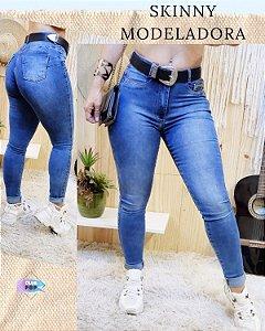 Calça Jeans Skinny Modeladora