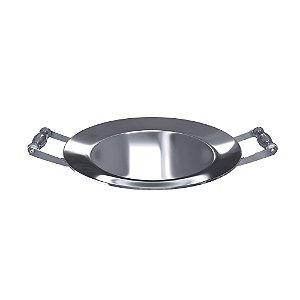 Disco aço inox 300mm com alças