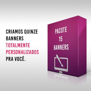 Pacote 15 Banners