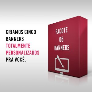 Pacote 05 Banners
