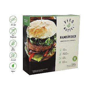 Hambúrguer Vegetal Vero Nuttri Brócolis e Linhaça 250g (Un)