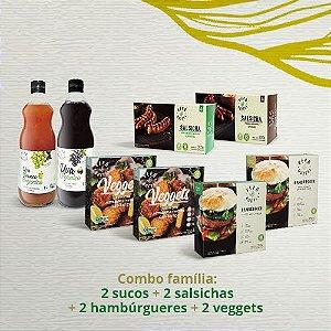Combo família (kit 8 produtos)