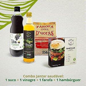 Combo Jantar saudável (kit 4 produtos)