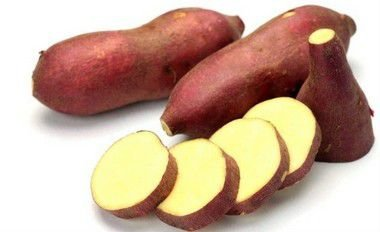 Batata doce rosada orgânica 500g