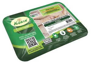 Coxa congelada orgânica 600g Korin
